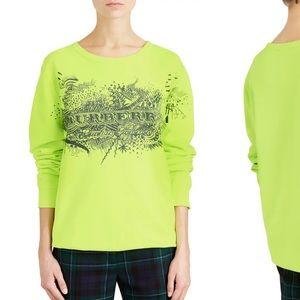 Sauer Doodle Print Sweatshirt BURBERRY size medium